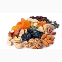 Продаем сухофруктов разных видов и орехи