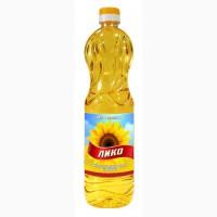 Масло подсолнечное ЛИКО 1литр раф.дез